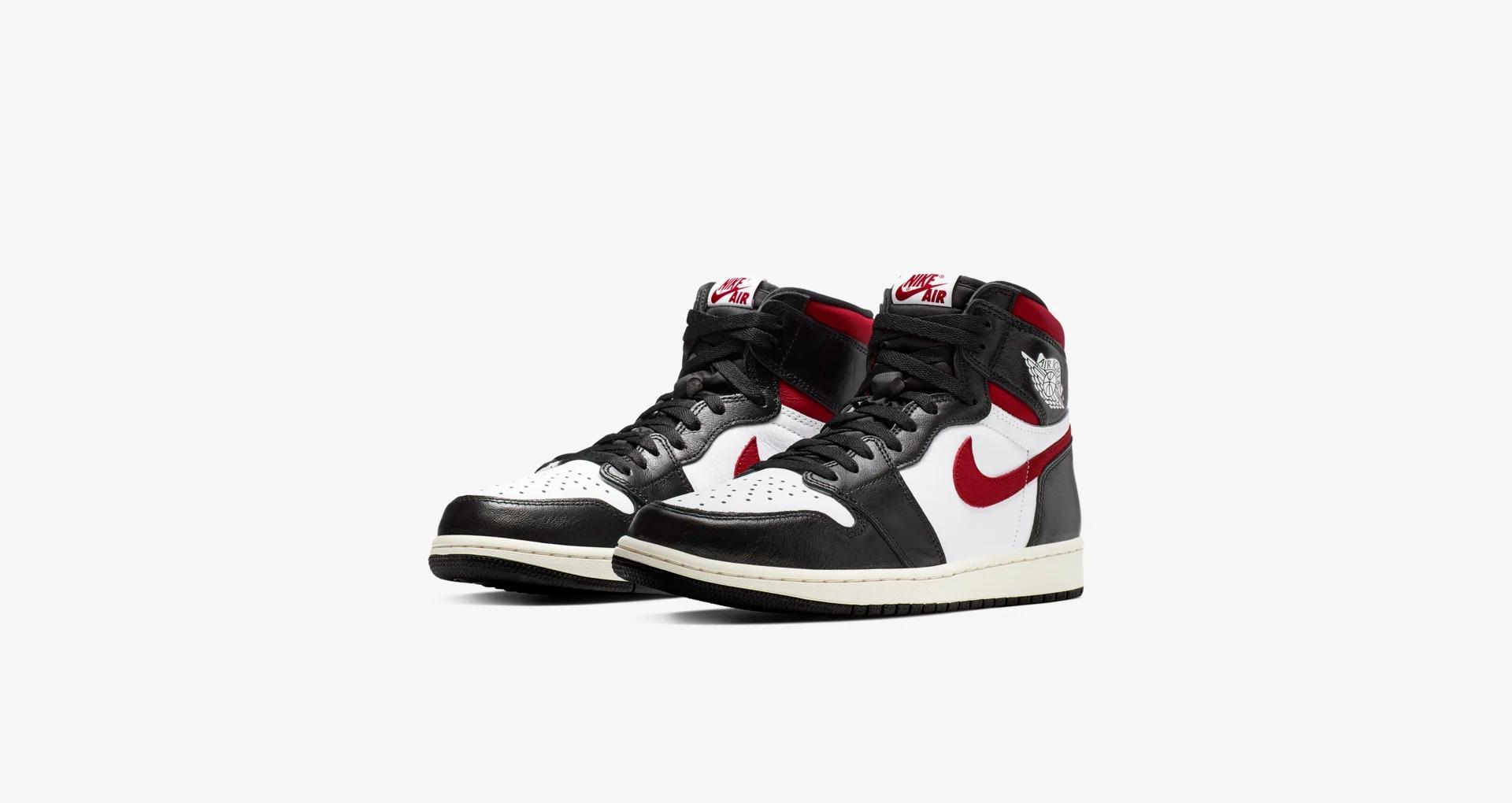 555088 061 Air Jordan 1 High OG Gym Red 5