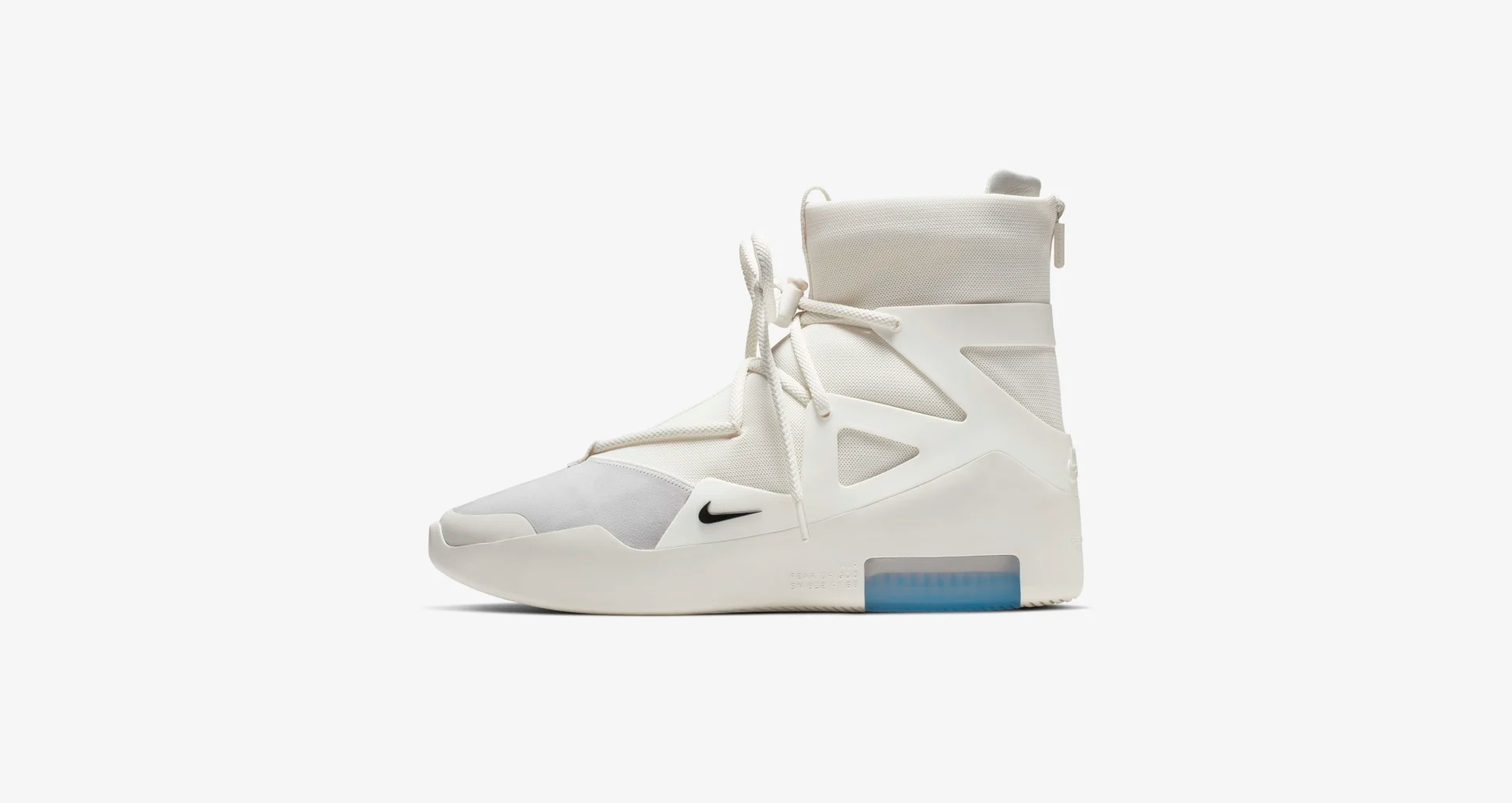 AR4237 100 Nike Air Fear of God 1 Sail 1