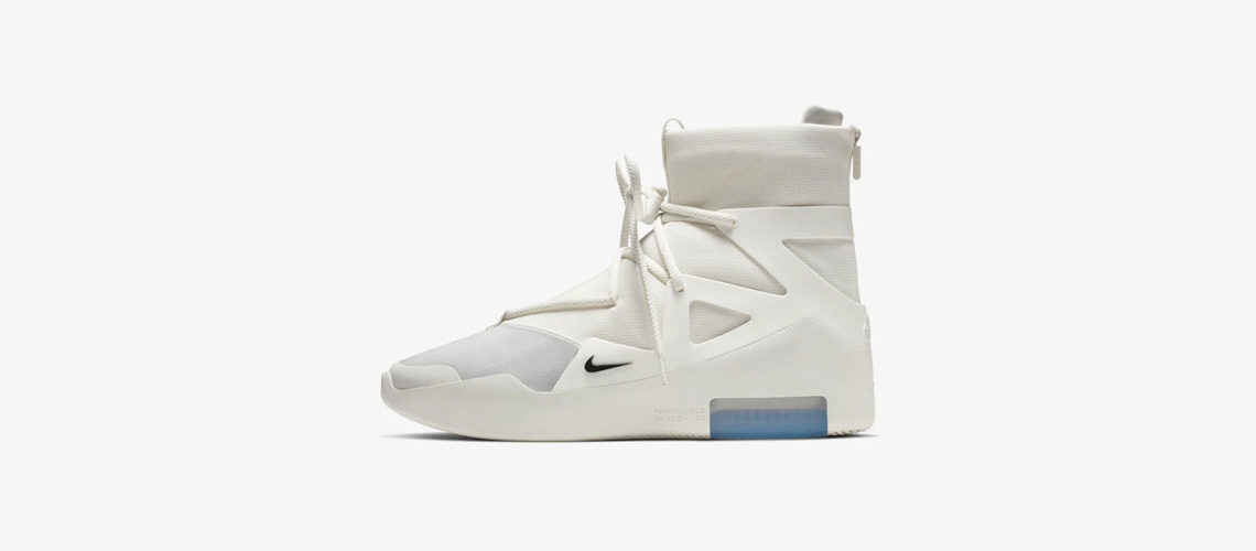 AR4237 100 Nike Air Fear of God 1 Sail 1140x500