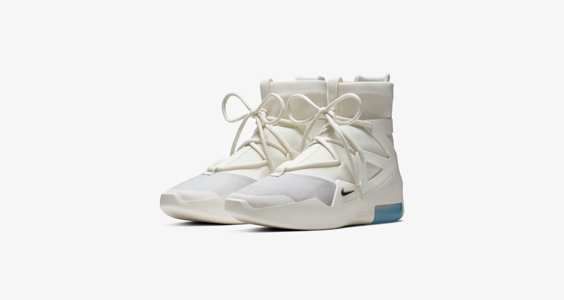 AR4237 100 Nike Air Fear of God 1 Sail 6