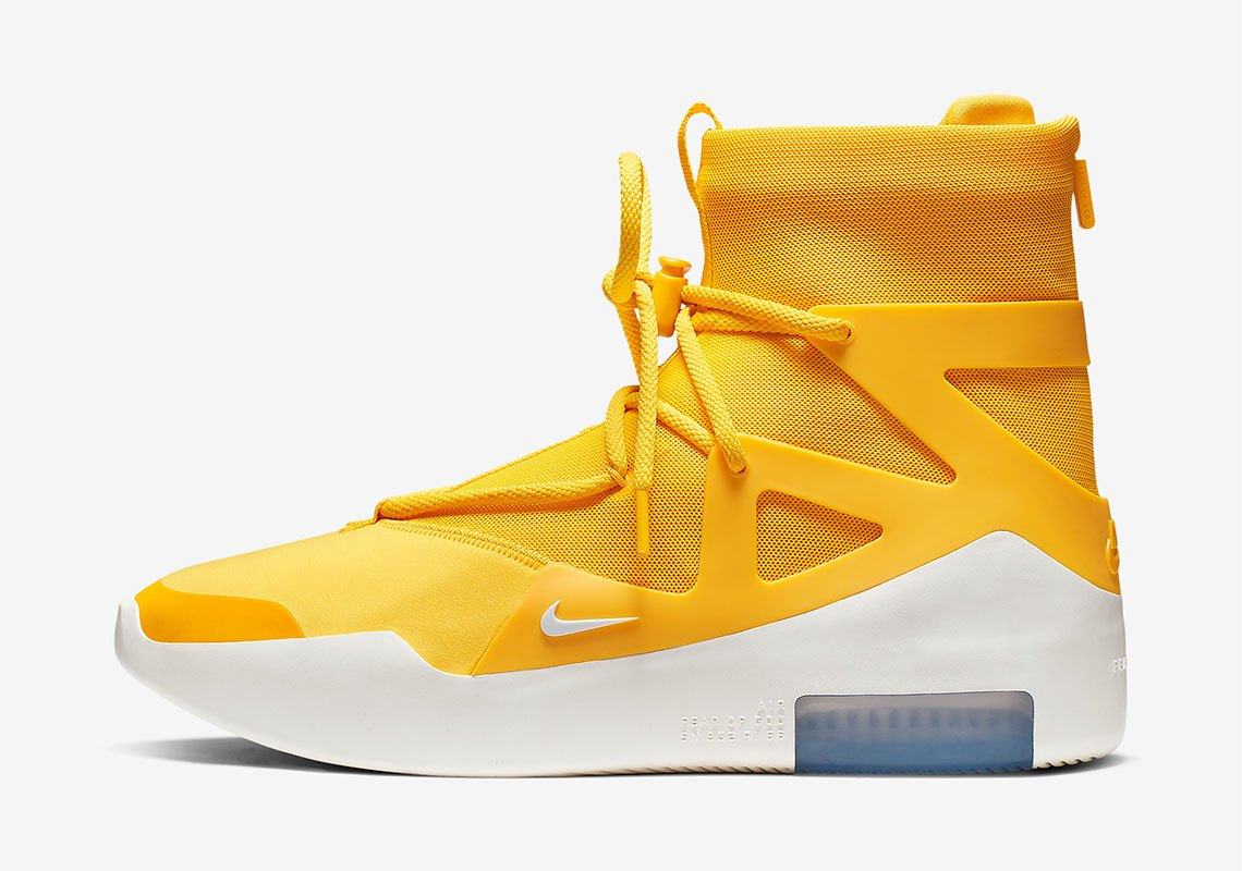 AR4237 700 Nike Air Fear Of God 1 Amarillo 1