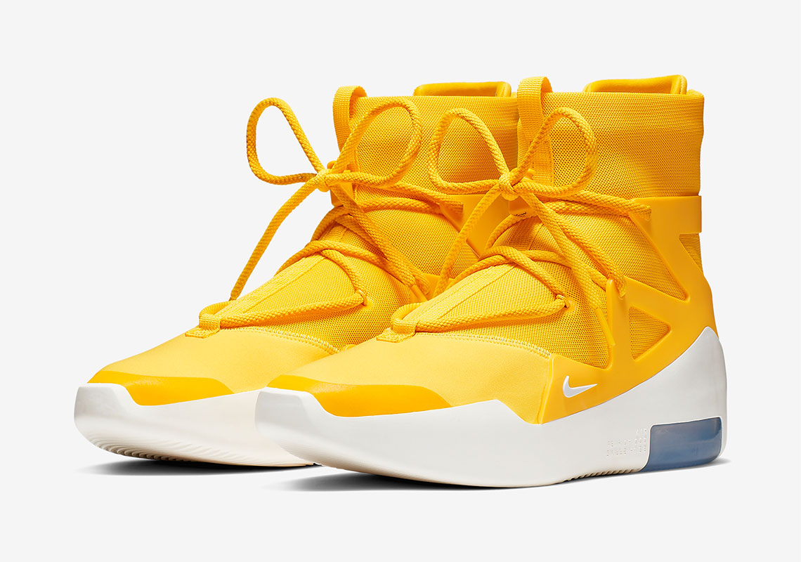 AR4237 700 Nike Air Fear Of God 1 Amarillo 2