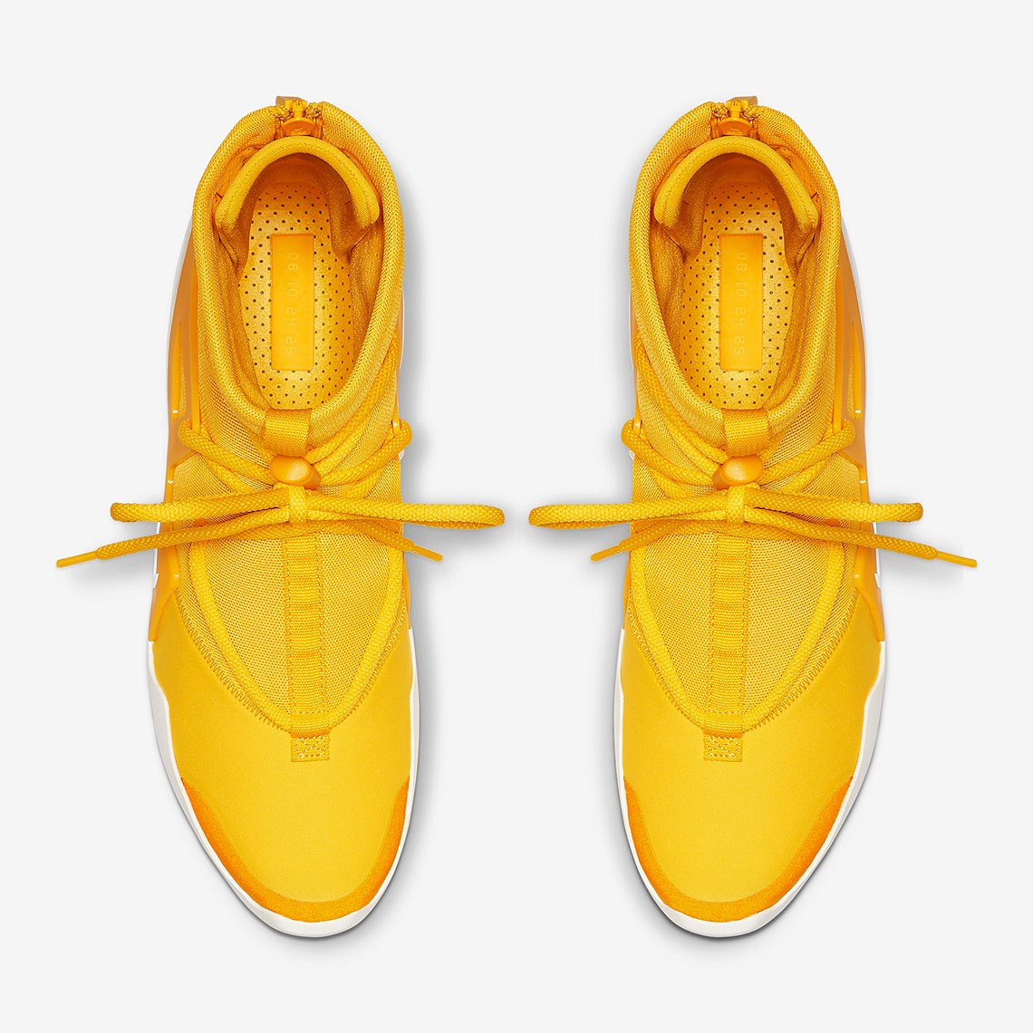 AR4237 700 Nike Air Fear Of God 1 Amarillo 4