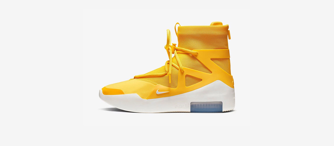 AR4237 700 Nike Air Fear Of God 1 Amarillo