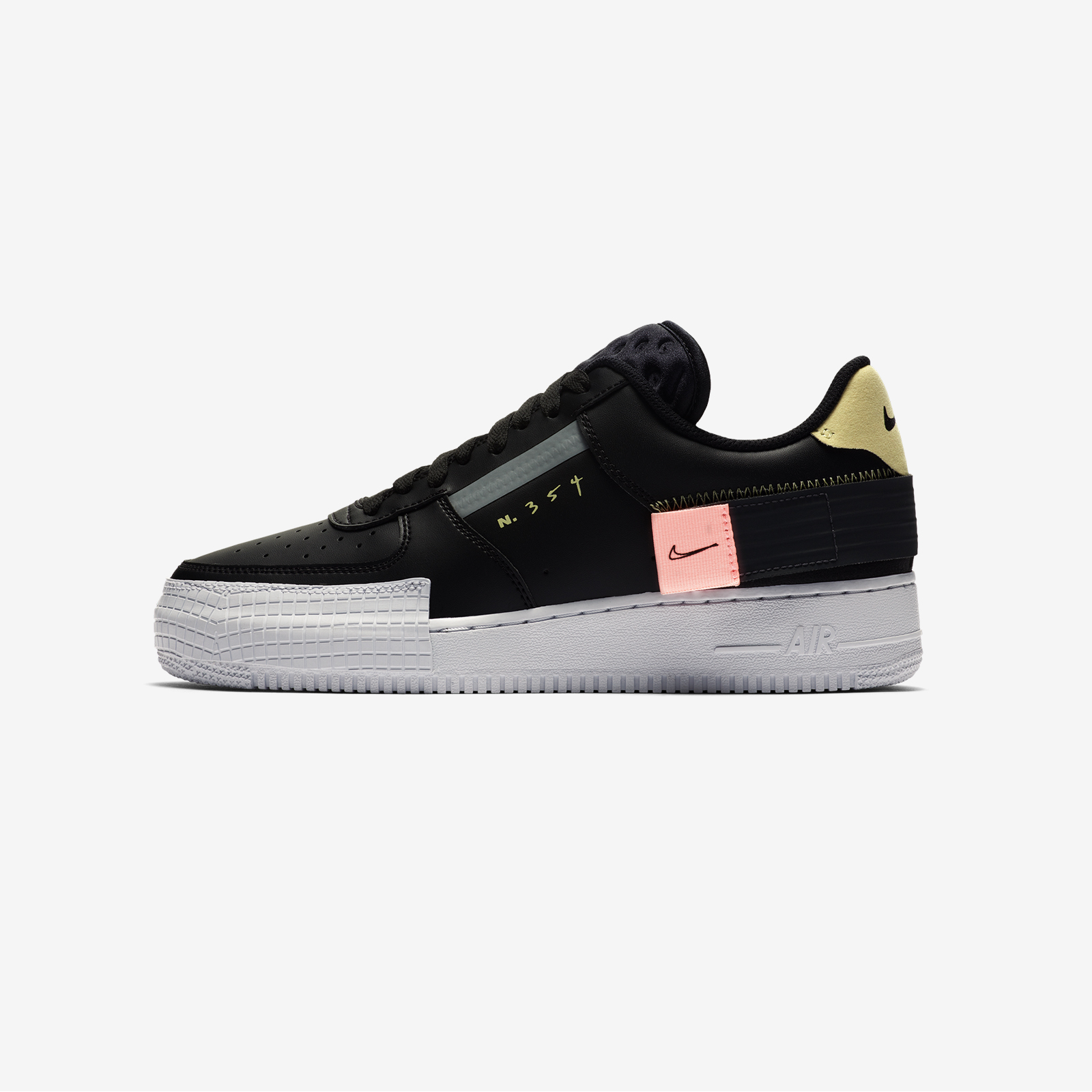 CI0054 001 Nike Air Force 1 Type Black 1