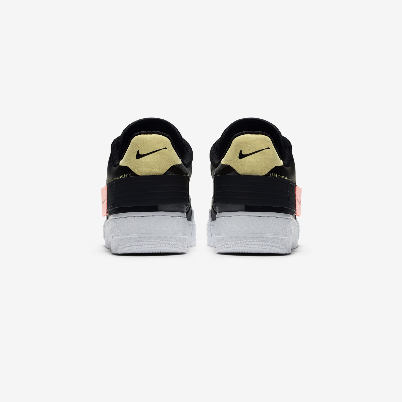 CI0054 001 Nike Air Force 1 Type Black 4