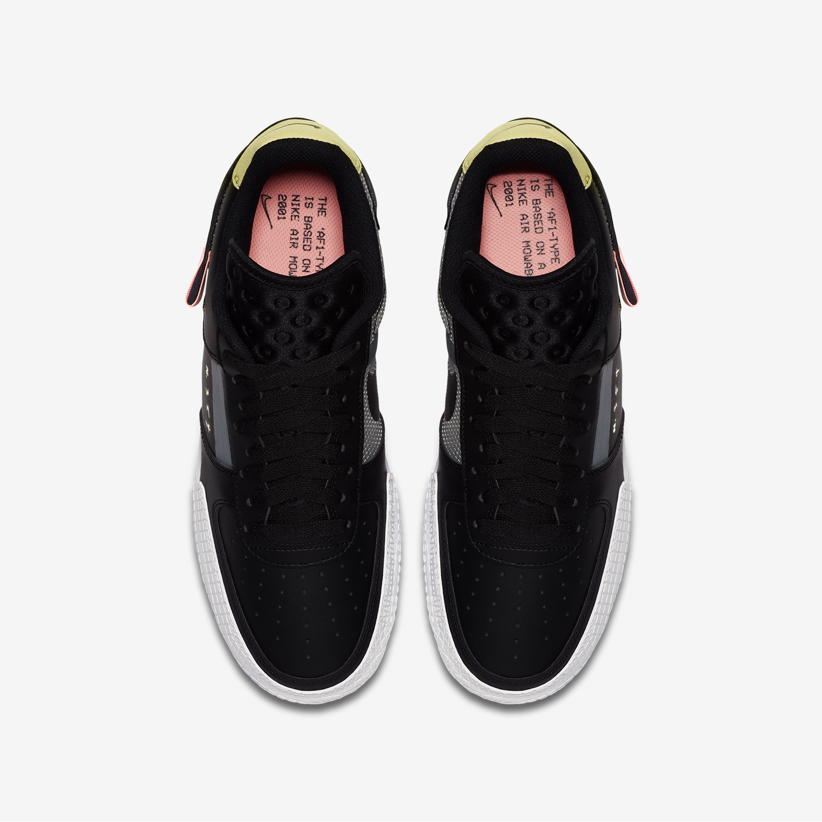 CI0054 001 Nike Air Force 1 Type Black 5