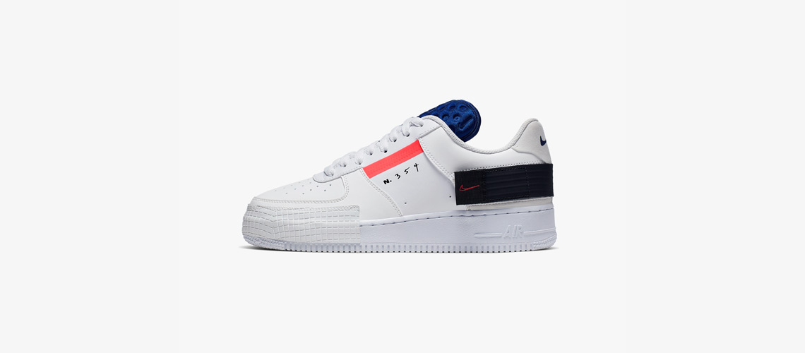 CI0054 100 Nike Air Force 1 Type