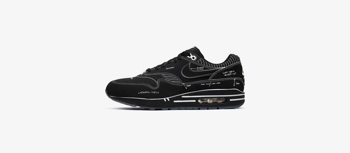 CJ4286 001 Nike Air Max 1 Sketch To Shelf Black 1140x500