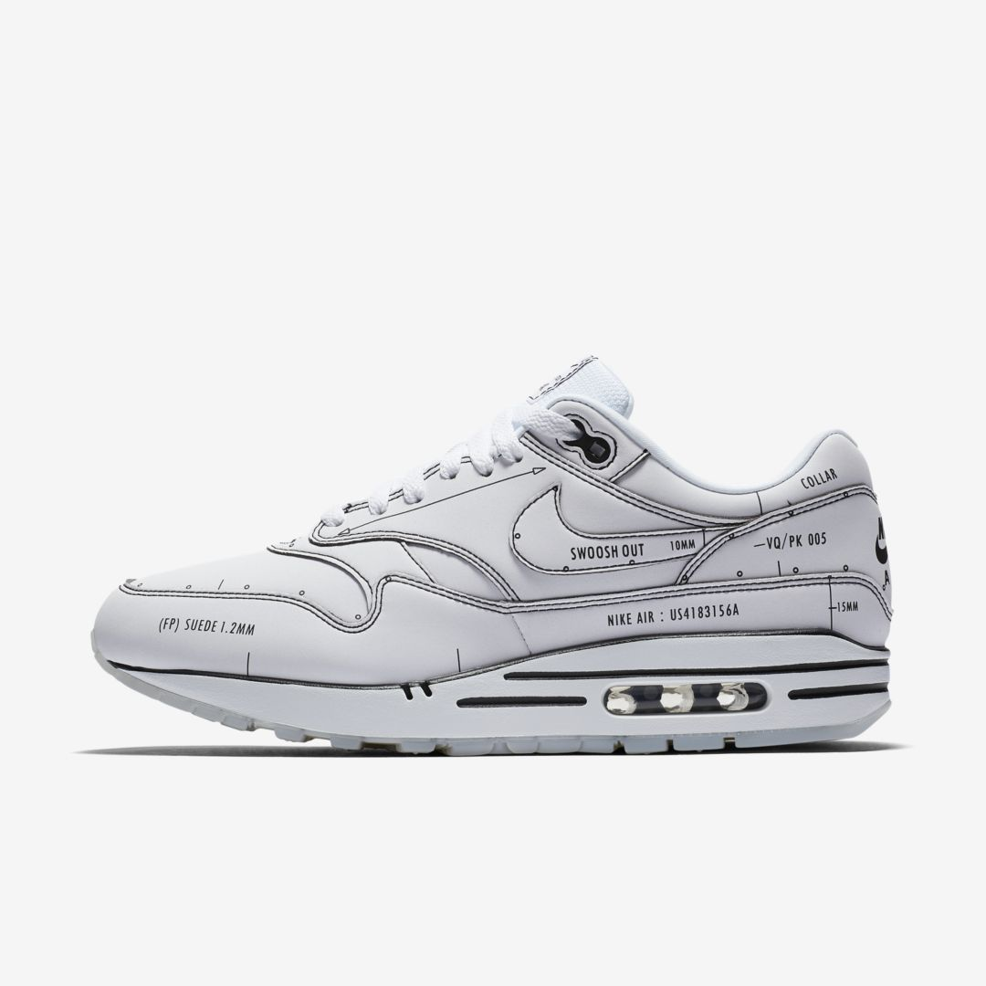 CJ4286 100 Nike Air Max 1 Sketch To Shelf White 1