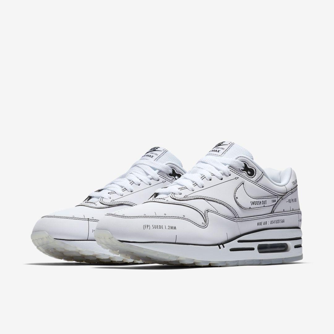 CJ4286 100 Nike Air Max 1 Sketch To Shelf White 2