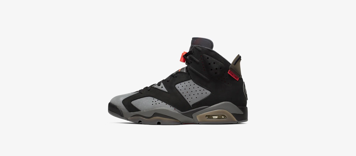 CK1229 001 PSG x Air Jordan 6 Retro