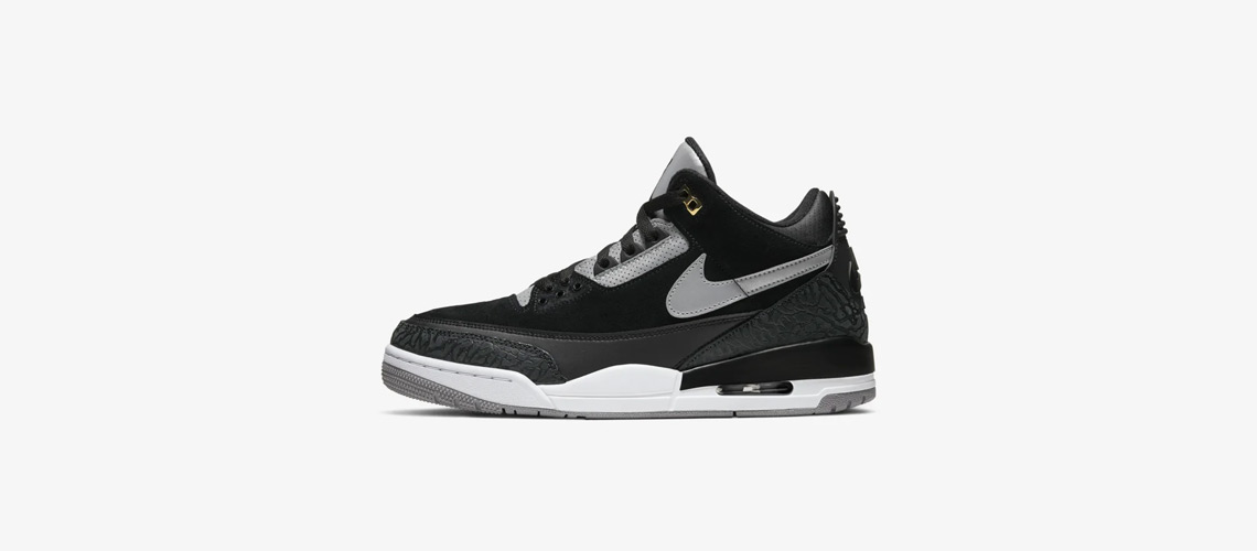 CK4348 007 Air Jordan 3 Tinker Black Cement