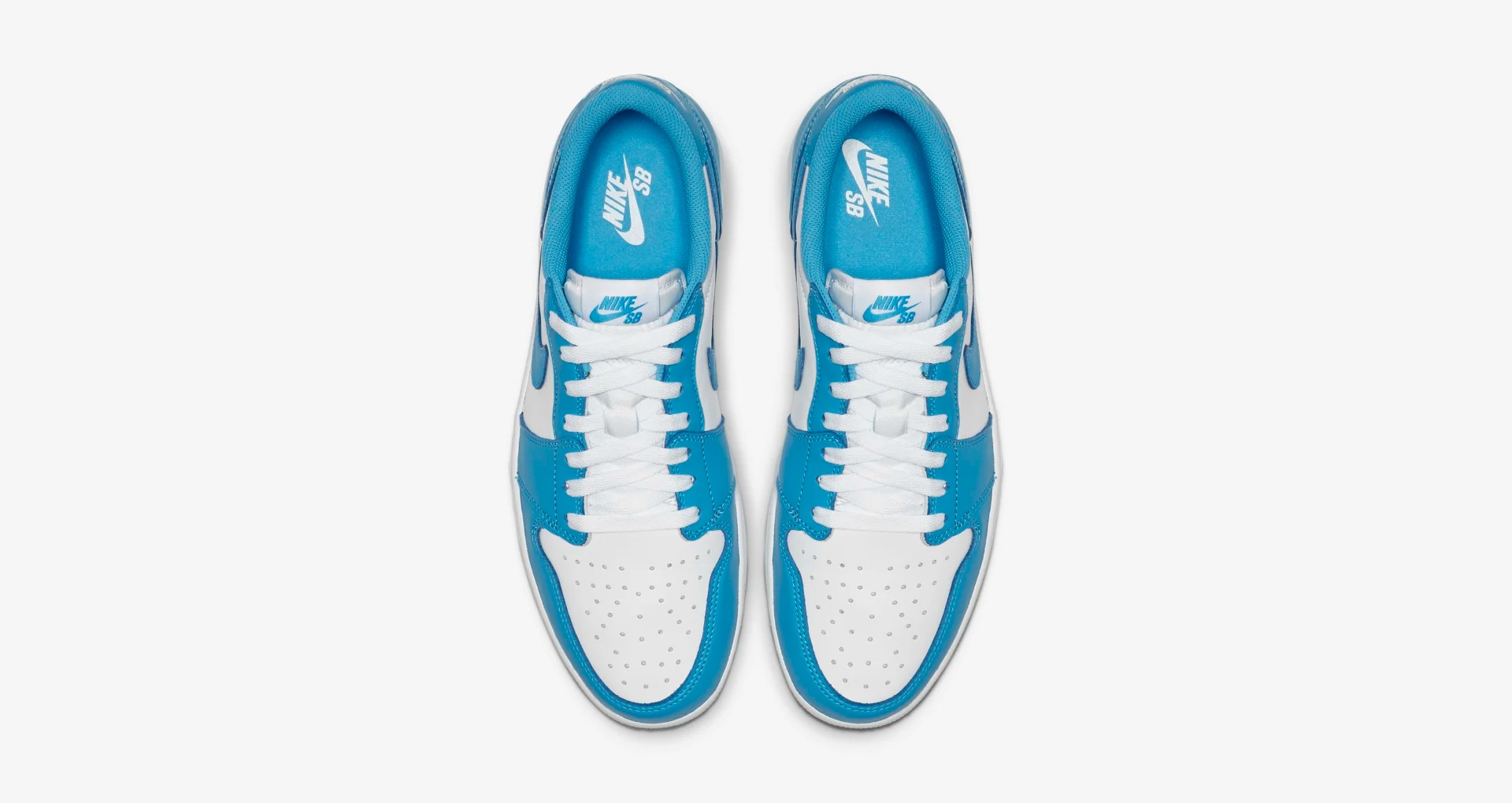 CJ7891 401 Air Jordan 1 Low SB Dark Powder Blue 5